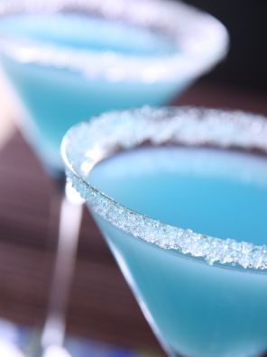 Blue hawaii Cocktails met alcohol