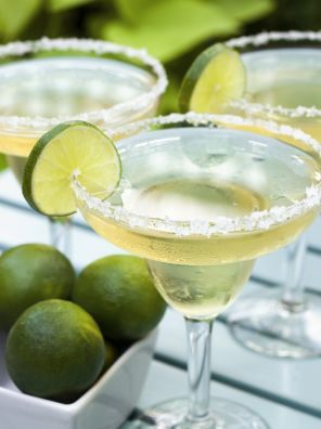 Margarita Cocktails met alcohol