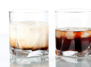 White russian Cocktails met alcohol